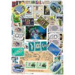 Sammlung Von Neuen Briefmarken Hebriden Vanuatu gestempelt