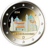Deutschland - 2 Euro Gedächtnis- 2014 Farbe