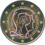 Pays-Bas - 2 Euro commémorative couleur 2013