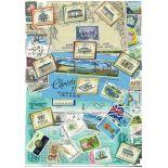 Collection de timbres Norfolk oblitérés