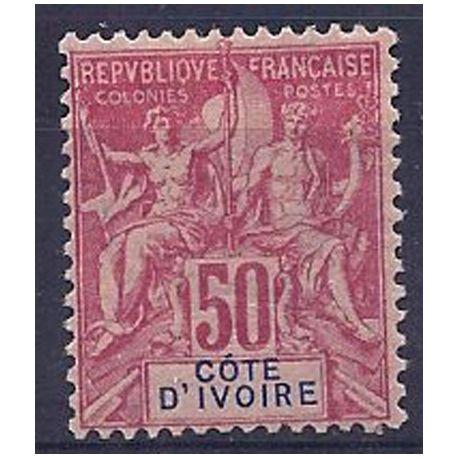 Timbre Cote d'Ivoire N° 11 neuf avec charnière