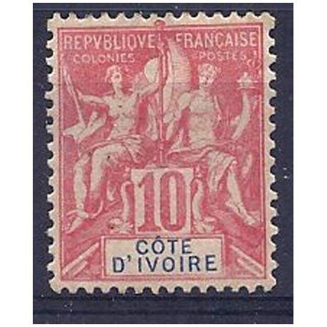 Timbre Cote d'Ivoire N° 14 neuf avec charnière