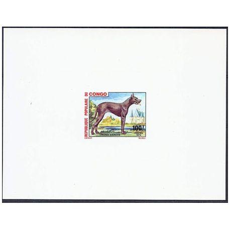 Timbre Congo N° 350 Epreuve de luxe