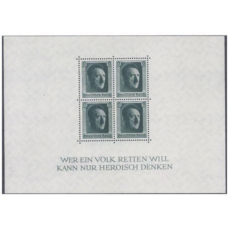 Bloc Timbre Allemagne N° 8 neuf sans charnière