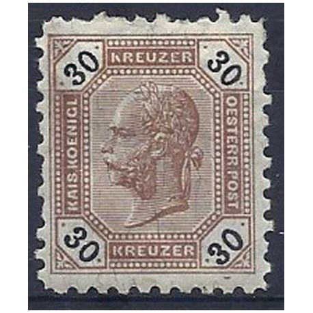 Timbre Autriche N° 63a neuf avec charnière