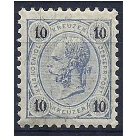 Timbre Autriche N° 50B neuf sans charnière