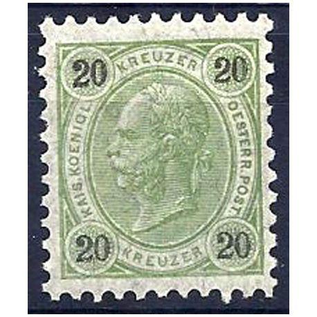 Timbre Autriche N° 53B neuf avec charnière