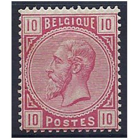 Timbre Belgique N° 38 avec charnière
