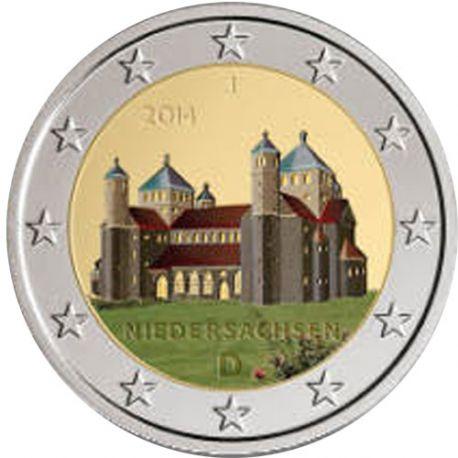 Allemagne - 2 Euro commémorative 2014 couleur Type 2