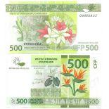 Banconote Polinesia Pick numero 5 - 500 FRANC 2013