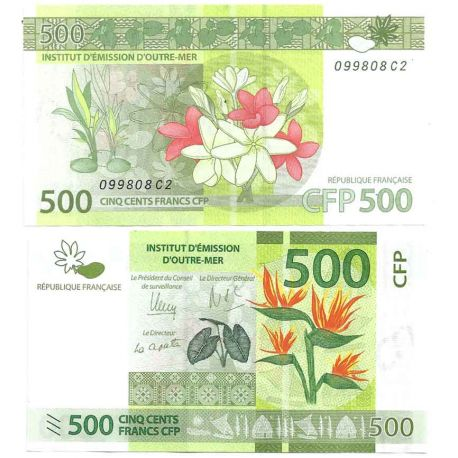 Billets de collection Billet de banque collection Polynesie - PK N° 5 - 500 Francs Billets de Polynesie 22,00 €