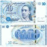Collezione banconote Tunisia Pick numero 96 - 10 Dinar 2013
