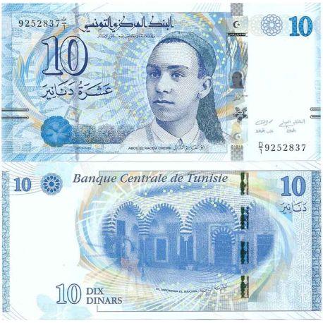 billet de banque de tunisie