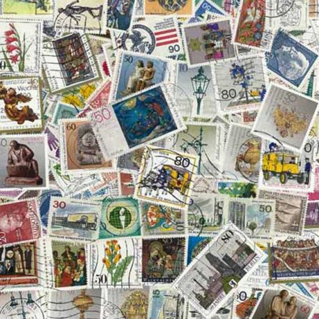 Berlin - 50 different stamps