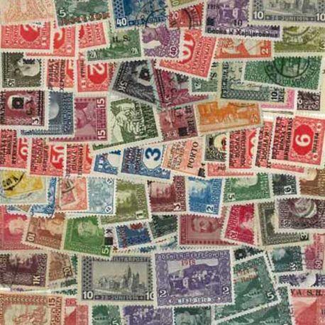 Bosnie - 25 timbres différents