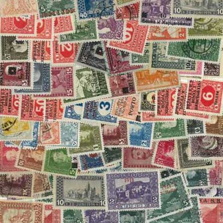 Collection de timbres Bosnie oblitérés