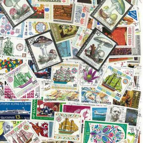 Collection de timbres Bulgarie oblitérés