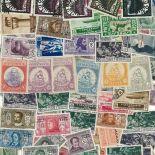Colección de sellos Egeo usados