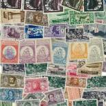 Used stamp collection Egee