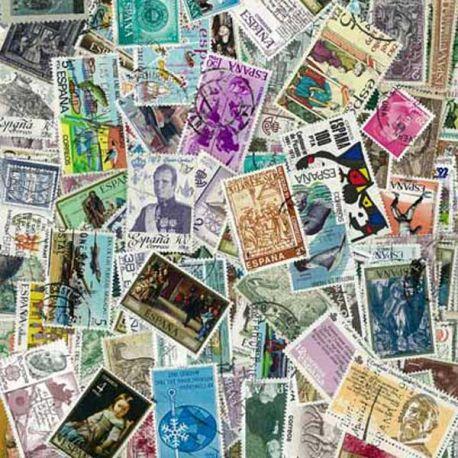 Spanien - 100 verschiedene Briefmarken