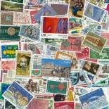 Used stamp collection Europa