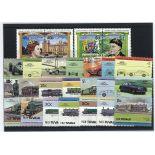 Sammlung Von Briefmarken gestempelt Verletzt