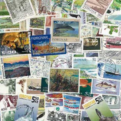 Faeroer Inseln - 25 verschiedene Briefmarken