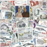 Used stamp collection Greenland
