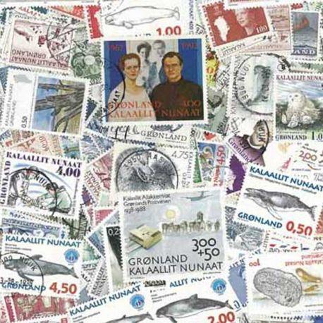 Grönland - 25 verschiedene Briefmarken