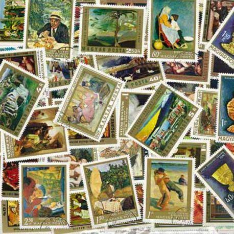 Hongrie - 100 timbres différents
