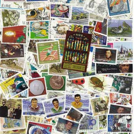 Irlande - 25 timbres différents