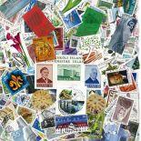 Sammlung gestempelter Briefmarken Island