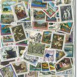 Sammlung gestempelter Briefmarken Italien