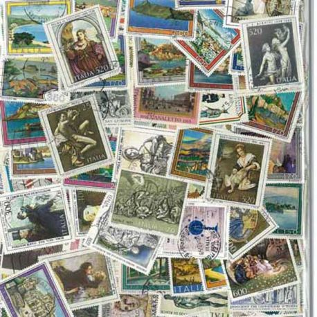 Italie - 100 timbres différents