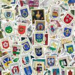 Sammlung gestempelter Briefmarken Litauen