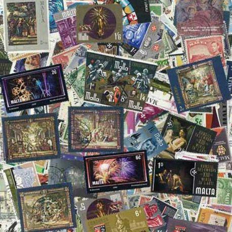 Malte - 25 timbres différents