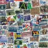 Collezione di francobolli Norvegia usati