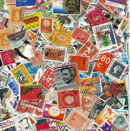 Pays Bas - 100 timbres différents