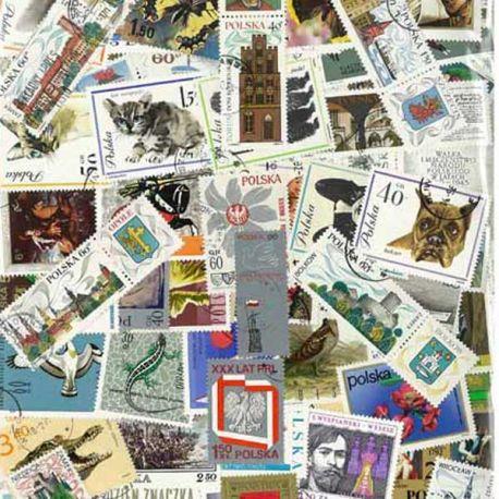 Polen - 100 verschiedene Briefmarken
