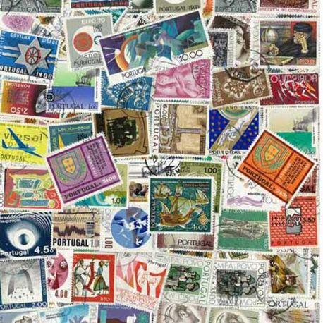 Collection de timbres Portugal oblitérés