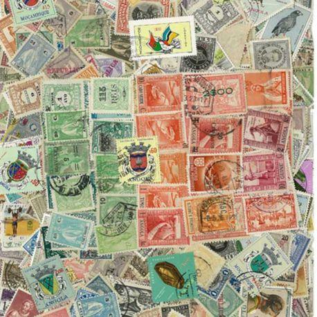 Collection de timbres Portugal Colonies oblitérés