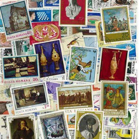Collection de timbres Roumanie oblitérés