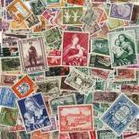 Used stamp collection Saarland