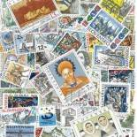 Used stamp collection Slovakia