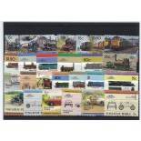Collection de timbres Nukulaelae oblitérés