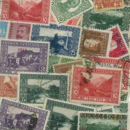 Bosnien Avt 40-25 verschiedene Briefmarken