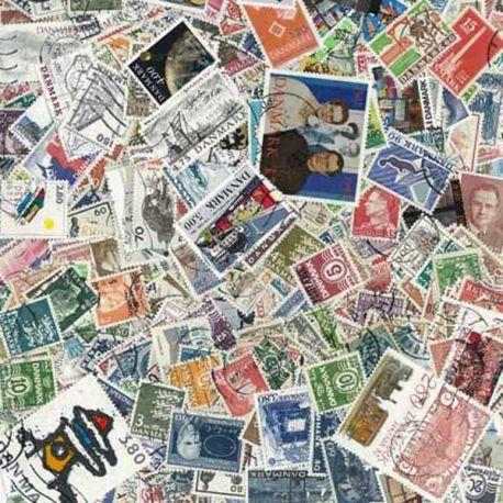 Dänemark - 100 verschiedene Briefmarken