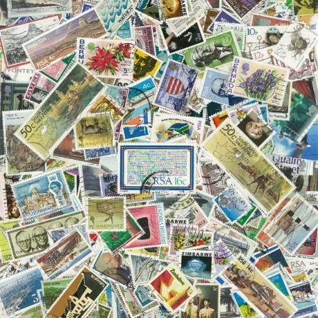 Großbritannien Empire - 100 verschiedene Briefmarken