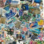 Collezione di francobolli Gran Bretagna usati