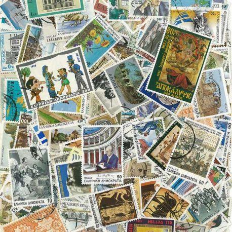 Collection de timbres Grece oblitérés